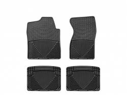 Interiors - Interiors Accessories/Necessities - WeatherTech - WeatherTech Duramax Front And Rear All Weather Floor Mats(Black) 2001-2007