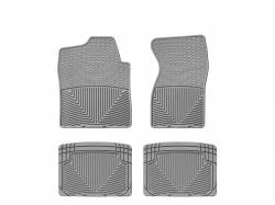 Interiors - Interiors Accessories/Necessities - WeatherTech - WeatherTech Duramax Front And Rear All Weather Floor Mats (Grey) 2001-2007