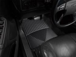Interiors - Interiors Accessories/Necessities - WeatherTech - WeatherTech Duramax  Driver & Passenger All-Weather Floor Mats (Black) 2001-2007