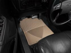 Interiors - Interiors Accessories/Necessities - WeatherTech - WeatherTech Duramax  Driver & Passenger All-Weather Floor Mats (Tan) 2001-2007