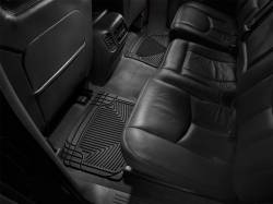 Interiors - Interiors Accessories/Necessities - WeatherTech - WeatherTech Duramax  Rear Only All-Weather Floor Mats (Black) 2001-2007