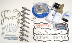 Injectors - Updated Stock Injectors - Lincoln Diesel Specialities - Complete LB7 Injector Install Kit with Lift Pump