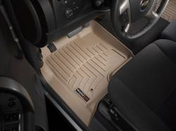 Interior  - Interiors Accessories/Necessities - WeatherTech - WeatherTech Duramax  Front Driver & Passenger Laser Measured Floor Liners (Tan) 2007.5-2014