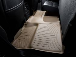 Interiors / Exteriors - Interiors Accessories/Necessities - WeatherTech - WeatherTech Duramax 2nd Row Only Floor Liner with Full Underseat Coverage (Tan) 2007.5-2014