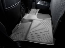 Interiors / Exteriors - Interiors Accessories/Necessities - WeatherTech - WeatherTech Duramax 2nd Row Only Floor Liner with Full Underseat Coverage (Grey) 2007.5-2014