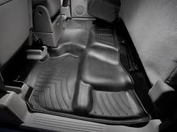 WeatherTech - WeatherTech Duramax 2nd Row Only Floor Liner For Extended Cab (Black) 2007.5-2014