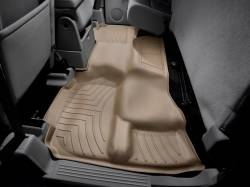 WeatherTech - WeatherTech Duramax 2nd Row Only Floor Liner For Extended Cab (Tan) 2007.5-2014