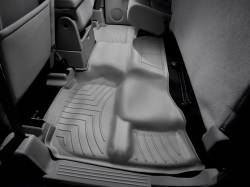Interiors / Exteriors - Interiors Accessories/Necessities - WeatherTech - WeatherTech Duramax 2nd Row Only Floor Liner For Extended Cab (Grey) 2007.5-2014