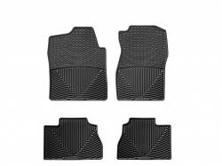 Interiors / Exteriors - Interiors Accessories/Necessities - WeatherTech - WeatherTech Duramax Front And Rear All Weather Floor Mats (Black) 2007.5-2014