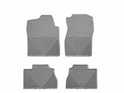Interiors / Exteriors - Interiors Accessories/Necessities - WeatherTech - WeatherTech Duramax Front And Rear All Weather Floor Mats (Grey) 2007.5-2014