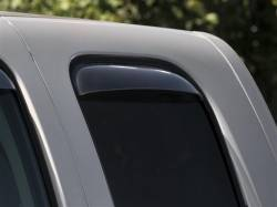 Exteriors Accessories/Necessities - Deflection/Protection - WeatherTech - WeatherTech Side Window Deflectors Extended Cab Rear Pair Only  (2007.5-2013)