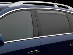 Exteriors Accessories/Necessities - Deflection/Protection - WeatherTech - WeatherTech Side Window Deflectors Double Cab Rear Pair Only (2015-2018)
