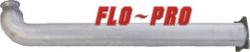 "FLo-Pro - Flo-Pro Aluminized 4"" Cat Race Pipe,  Fits Duramax LMM, EC-CC/SB-LB"