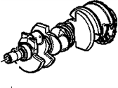 Engine - Engine Components - GM - GM Duramax Crankshaft  (2006-2010)