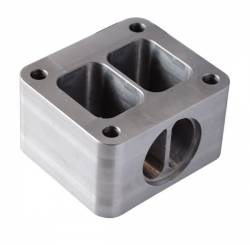 Turbo - Accessories & Parts - PPE - PPE Duramax T4 Riser Block with Wastegate Port (2001-2010)