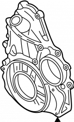 Engine - Engine Components - GM - GM Engine Timing Cover