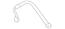 Brake System and Components - Lines/Hoses/Kits/Hydraulic's - GM - GM OEM Replacement Rear Left Brake Hose (2011-2014)