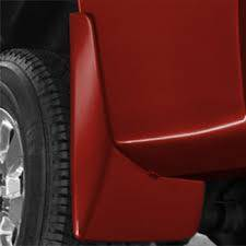 Exteriors Accessories/Necessities - Mud Flaps/Splash Guards - GM - GM OEM Molded Rear Splash Guards (Victory Red)(2007.5-2013)