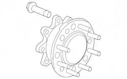 Brake System and Components - Hardware/Brackets/Miscellaneous - GM - GM Front Wheel Hub Extention (2007.5-2010)