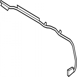 Engine - Sensors & Electrical - GM - GM OEM Positive Battery Cable (2007.5-2010)