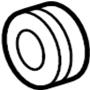GM OEM Radiator Insulator (2006-2016)