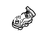 2006-2007 LBZ VIN Code D - Cooling System - GM - GM Engine Coolant Thermostat Housing  (2004.5-2010)