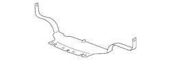 GM OEM Lower Radiator Baffle (2007.5-2010)