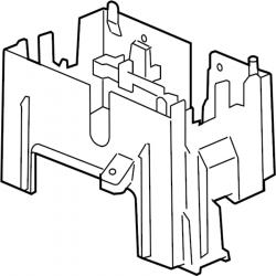 Engine - Sensors & Electrical - GM - GM OEM Engine Electrical Junction Block Mounting Bracket (2007.5-2009)