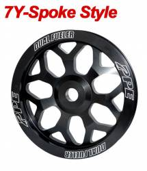 Fuel System-Aftermarket - Fuel System Components - PPE - PPE Performance 7Y-Spoke Style Billet Aluminum Pulley Wheel (2006-2010)