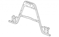Cooling System - Radiators, Tanks, Reservoirs &  Parts - GM - GM Front Radiator Support Brace (2011-2014)