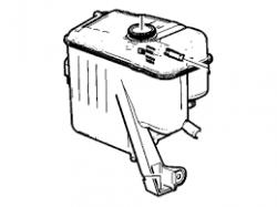2011-2016 LML VIN Code 8 - Cooling System - GM - GM OEM Coolant Over Flow/ Surge Tank (2011-2012)