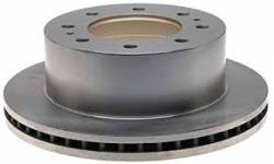 2017-2018- L5P VIN Code  Y - Brake System and Components - GM - GM OEM Dually Rear Brake Rotor (2011-2018)