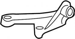2004.5-2005 LLY VIN Code 2 - Cooling System - GM - GM OEM Idler Pulley Bracket (2001-2010)