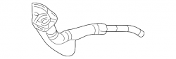 Fuel System - OEM Fuel System - GM - GM OEM Fuel Filler Pipe (2001-2004)