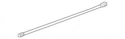 2007.5-2010 LMM VIN Code 6 - Suspension - GM - GM OEM Torsion Bar, Left (2001-2010)