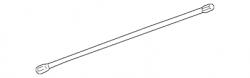 2007.5-2010 LMM VIN Code 6 - Suspension - GM - GM OEM Torsion Bar, Right (2001-2010)