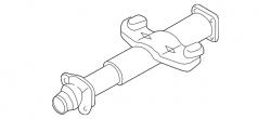 2004.5-2005 LLY VIN Code 2 - Steering/Front End - GM - GM OEM Steering Column Jacket  (2001-2007)
