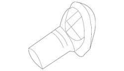 2004.5-2005 LLY VIN Code 2 - Steering/Front End - GM - GM OEM Coupling Shield (2001-2007)