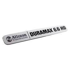 Exteriors Accessories/Necessities - Parts – Handles, Latches, Misc - GM - GM OEM Duramax Nameplate/Emblem (2001-2016)