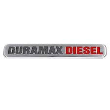 "Exteriors Accessories/Necessities - Parts – Handles, Latches, Misc - GM - GM OEM ""Classic Duramax"" Emblem (2001-2007)"