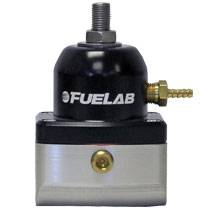 Fuel System-Aftermarket - Fuel System Components - Fuel Lab - Fuelab Velocity Series Adjustable Bypass Fuel Pressure Regulator,  4-12psi (2001-2018)