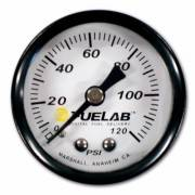 Fuel Lab - Fuelabs  EFI  1.5 inch Fuel Pressure Gauge. Range: 0-120 PSI