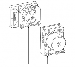 2017-2018- L5P VIN Code  Y - Brake System and Components - GM - GM OEM Anti-Lock Brake Control Modulator Valve (2015-2017)