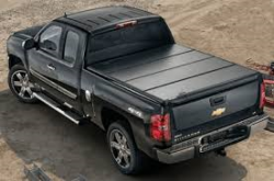 GM - GM Accessories Standard Box Quad-Fold Tonneau Cover (2011-2014)
