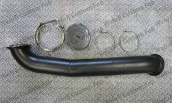 "Turbo - Accessories & Parts - Wehrli Custom Fab - Wehrli Custom Fab Duramax LML S300,  3"" Down Pipe  (2011-2016)"