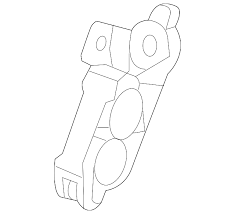 Transmission - Transmission Fittings/Hardware/Lines - Gm OEM Allison Transmission Line Retaining Clip (2001-2018)