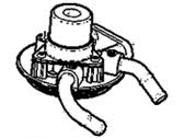 Fuel System - Fuel Filters - GM - GM OEM Fuel Filter Housing, No Heater (2011-2014)