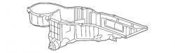 2011-2016 LML VIN Code 8 - Air Conditioning - GM - GM OEM A/C Lower Evaporator Core Case (2011-2014)