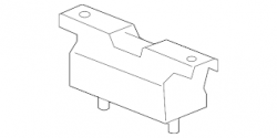 Transmission - Transmission Fittings/Hardware - GM - GM OEM Duramax Transmission Motor Mount (2011-2016)