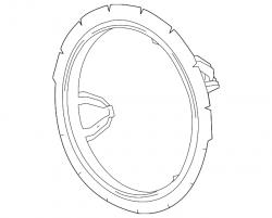 GM OEM Cooling Fan Rear Shroud (2011-2016)